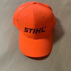 🆕Stihl Orange Ball Cap